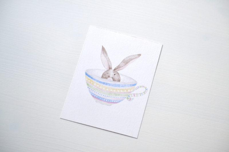 Pohľadnica - Zajo